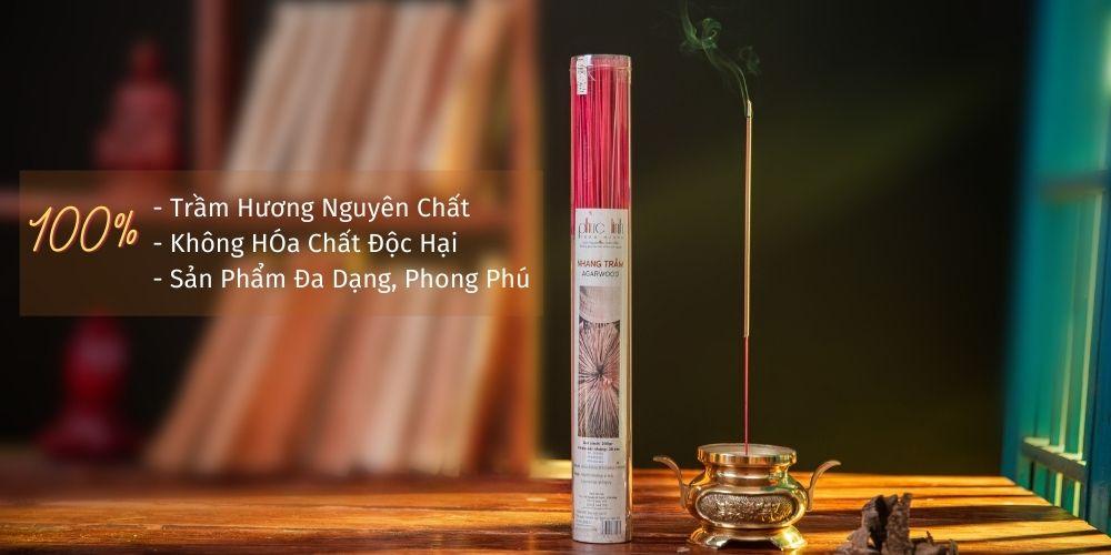 Các sản phẩm Nhang phải có 2 yếu tố là tính an toàn cao và mùi hương phải đạt tiêu chuẩn.