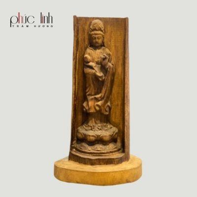 Tượng Phật Quan Âm Trầm Hương