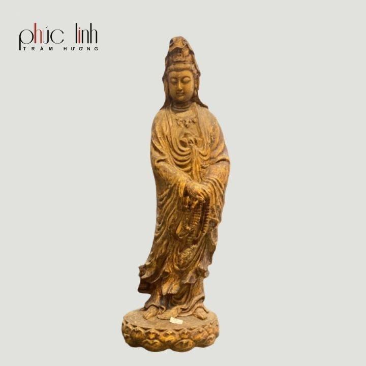 Tượng Phật Trầm Hương Quan Âm