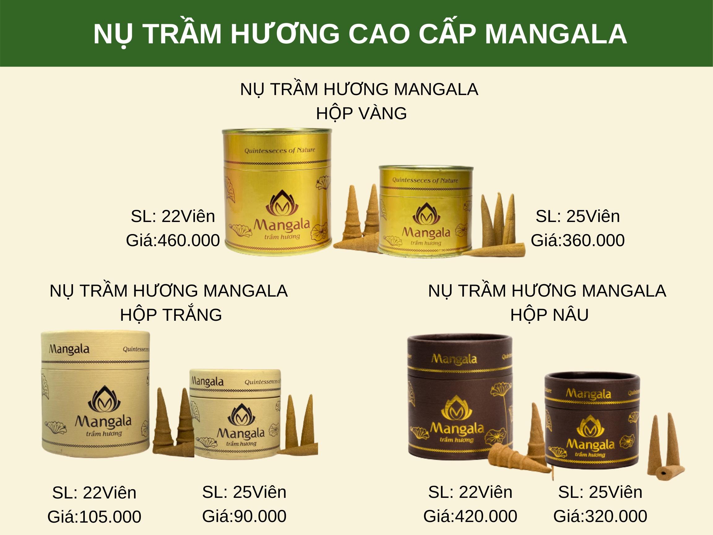 giá nụ trầm hương cao cấp mangala