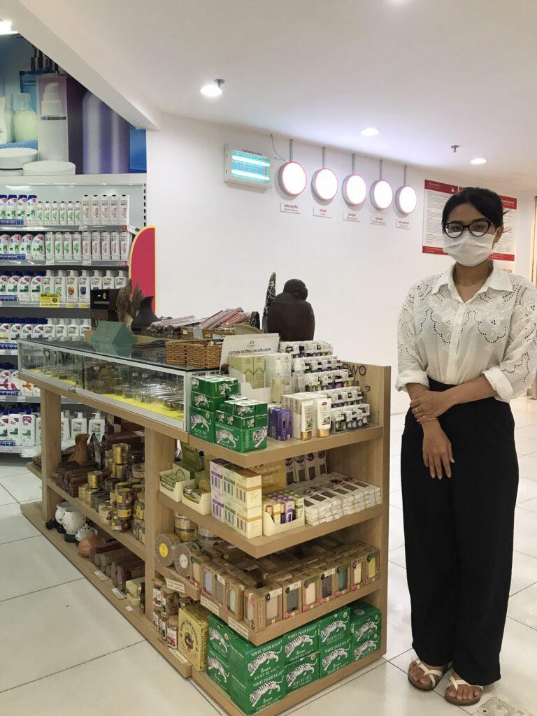 Cửa hàng bán Trầm Hương tại Nha Trang của Trầm hương Phúc Linh - tại siêu thị Vinmart tầng 2- Trung tâm Thương Mại VinCom đường Lê Thánh Tôn, Nha Trang