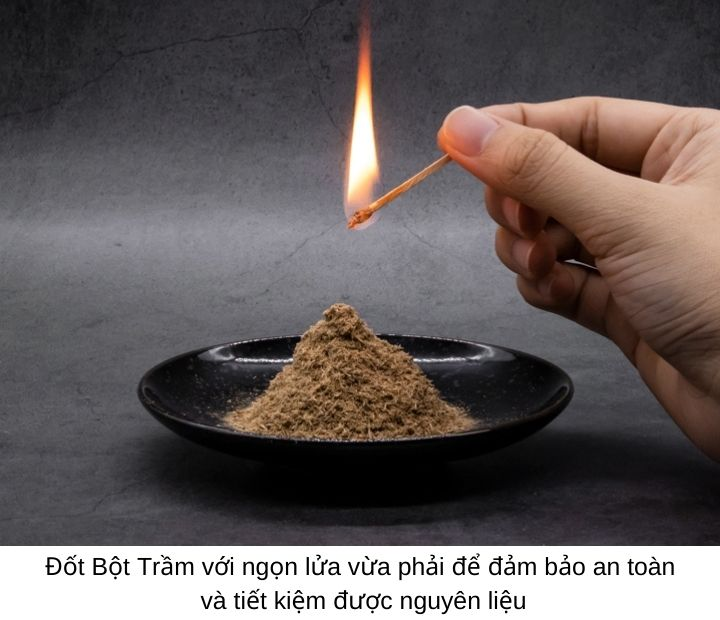 Bột Trầm Hương xông ssoost