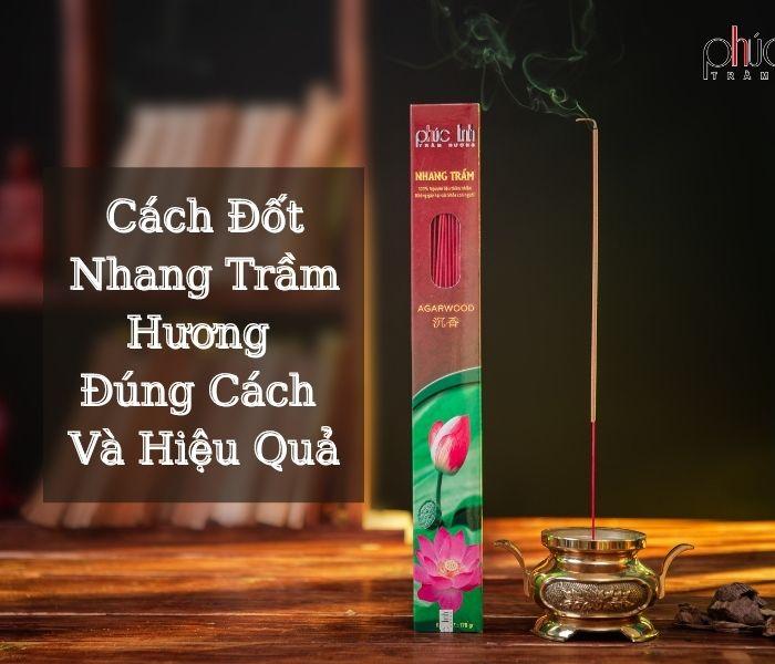 Khi đốt nhang nụ trầm hương thường xuyên, các bạn sẽ cảm thấy thoải mái và giảm đi căng thẳng.